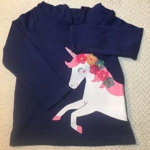 Carter's girls unicorn shirt